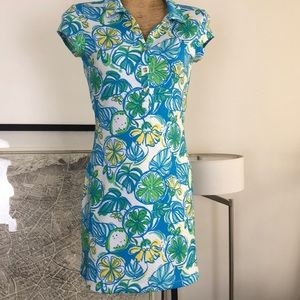 New Lilly Pulitzer open back dress Size M